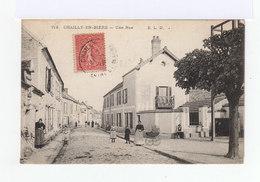 Chailly En Bière. Une Rue. Personnage Enfants. Landeau. (3131) - Autres Communes