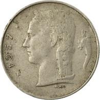Monnaie, Belgique, Franc, 1957, B+, Copper-nickel, KM:143.1 - 1951-1993: Baudouin I