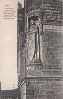 Cp , 57 , METZ , Statue Comte De Haeseler à La Nouvelle Gare - Metz