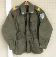 Giacca Mimetica Verde NATO M75 Sergente Di Un Btg. CAR Del 1976 Ottima Etichettata - Divise