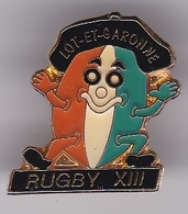 Pin's RUGBY XIII LOT ET GARONNE - Rugby