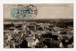 - CPA VANNES (56) - Casernes D'artillerie - Etang Au Duc - Route De Nantes Vers Noyalo 1905 - Collection H. Laurent 411 - Vannes