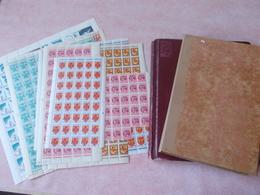 Lot N° 261 REUNION France Surchargé C F A  Neufs ** / No Paypal - Briefmarken