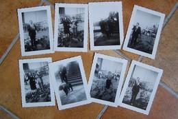Lot De 8 Photos - VOYAGE à VENISE - Place Saint Marc (Italie) - Ft 10 X 7 Cm - Lieux