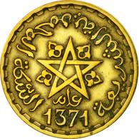 Monnaie, Maroc, Mohammed V, 20 Francs, AH 1371/1952, Paris, TB+ - Maroc