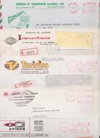 PORTUGAL - Lot De 1000 Enveloppes Publicitaires En Affranchissement Automatique Stampless Franking Meter Mail Covers EMA - Poststempel - Freistempel