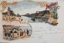 CPA - FRANCE - Hérault >Hérault > Palavas Les Flots - Vues Multiples - Daté 1904 - TBE - Palavas Les Flots