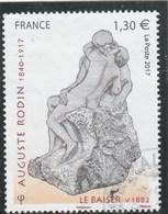 FRANCE 2017 RODIN LE BAISER OBLITERE - YT 5168 - Used Stamps