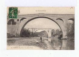 Le Roussillon. Céret. Les Deux Ponts. (3138) - Ceret