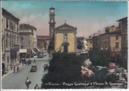 CECINA TOSCANA  PIAZZA GUETTAZZI E CHIESA S. GIUSEPPE  VIAGGIATA - Italie