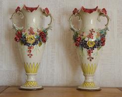 """Vase En Opaline Rose """"Opaline De Versailles"""" - Verre & Cristal"""
