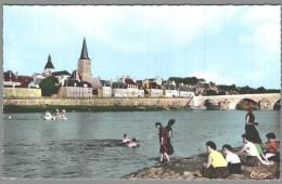 CPSM 58 - La Charité Sur Loire - Vue Générale - La Plage - La Charité Sur Loire