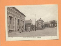 CPA  - Fresnes Sous Coucy - (Aisne ) - La Place - Autres Communes