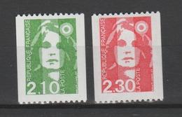 FRANCE / 1990 / Y&T N° 2627/2628 ** : Briat Roulette (2 TP) Roulettes Sans N° - Gomme D'origine Intacte - France