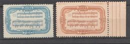 BRESIL 1936 - Yvert N° 309* Et 310** - 2 Valeurs (Centenario De Carlos Gomes) - Ungebraucht