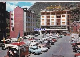 CPSM 10X15  D'ANDORRA - LES ESCALDES N° 1246 - VOITURES - Andorre