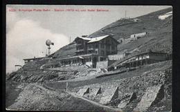 SUISSE, Schynige Platte-bahn Station Und Hotel Bellevue - BE Berne