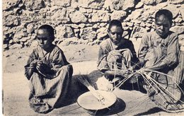 Africa Orientale - Eritrea - Piccoli Fabbricanti Di Stuoie - - Eritrea