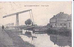 Carte 1928 MONT BERNENCHON / PONT SUPLIE - Otros Municipios