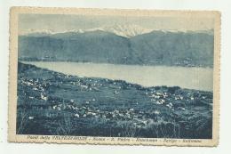 PAESI DELLA VALTRAVAGLIA - NASCA - S.PIETRO -ORNVHIANO - SARIGO - SALTIRANA  - VIAGGIATA FP - Varese