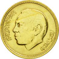 Monnaie, Maroc, Al-Hassan II, 20 Santimat, 1974, Paris, TTB, Aluminum-Bronze - Maroc