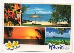 Ile Maurice --- Multivues -- Beau Timbre  Poisson -- - Mauritius