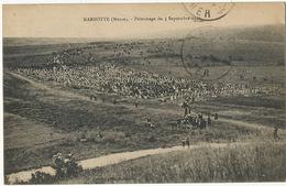 Marbotte Pelerinage Du 5 Septembre 1920 Cachet Convoyeur  Verdun à Lerouville Texte Exhumation Poulard - Frankreich