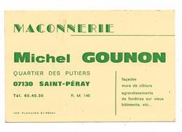 ARDECHE ..SAINT PERAY...**MICHEL GOUNON **    MACONNERIE - France