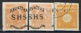 Sellos JUGOSLAVIA (reino Serbios Croatas Slovenos), Periodicos 1919, Num 1-2 */º - Zeitungsmarken