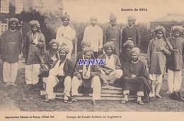 CPA MILITAIRE - GUERRE De 1914 - GROUPE De  BLESSES INDIENS En ANGLETERRE - 1915 - Guerre 1914-18