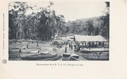 CONGO  HAUT OUBANGUI   Embarcadère De La N.T.C.O à BANGUI En 1903 - Congo Français - Autres