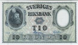 Sweden - Pick 43 - 10 Kronor 1956 - Unc - Suède