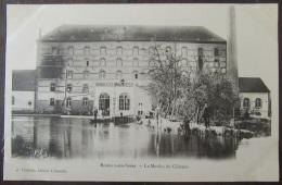 Romilly Sur Seine (Aube) - Carte Postale Précurseur - Le Moulin Du Château - Animée - Non-Circulée - Romilly-sur-Seine
