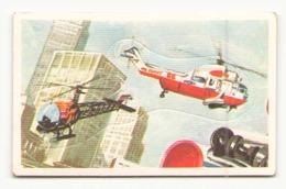 IMAGE AUTOCOLLANTE HELICOPTERE EDITION BOBIER N° 196 - Sonstige