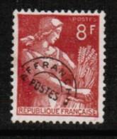 FRANCE  Scott # 708 VF USED PRECANCEL (Stamp Scan # 421) - Precancels