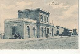 ISRAEL )) JAFFA  Railway Station - Cartes Postales