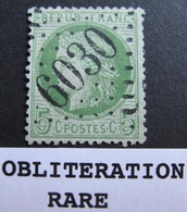 R1684/37 - CERES N°53 - RARE GC 6030 (BUREAU SUPPLEMENTAIRE) : AULUS (Ariège) ➤➤➤ INDICE 15 - 1871-1875 Cérès