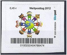 Privatpost - Privatpost Biberpost - Weltposttag 2012 - BRD
