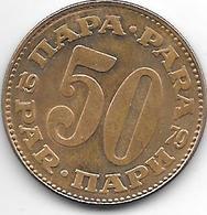 *Yugoslavia  50 Para  1979 Smal 0 KM 46.1   Unc!! - Joegoslavië