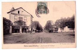 2824 - Soisy Sous Etiolles ( 91 ) - Boulevard De Vandeul - H.Pinchon  Tabac à Soisy - - Autres Communes