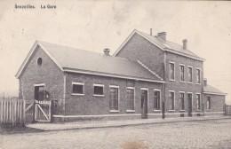 Senzeilles La Gare Circulée En 1912 - Cerfontaine