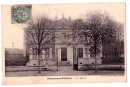 2825 - Soisy Sous Etiolles ( 91 ) - La Mairie - H.Pinchon  Tabac à Soisy - - Autres Communes