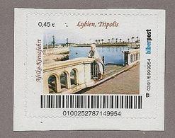 Privatpost - Biberpost - Lybien Tripolis (Wert: 0,45) - BRD