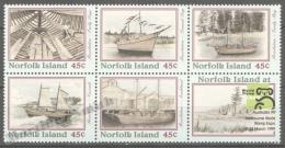 Norfolk Island 1999 Yvert 660-64, Australia ´99, Resolution Ship Story - MNH - Norfolk Eiland