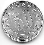 *Yugoslavia  50 Para  1953 KM 29    Bu!! - Jugoslavia