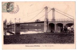 2826 - Soisy Sous Etiolles ( 91 ) - Le Pont Suspendu - H.Pinchon  Tabac à Soisy - - Autres Communes