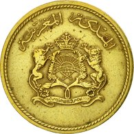 Monnaie, Maroc, Al-Hassan II, 10 Santimat, 1974, Paris, TB+, Aluminum-Bronze - Maroc