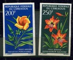 Rep. Cameroun  ** PA ND N° 99/100 - Fleurs - Cameroon (1960-...)