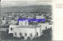 101808 LEBANON LIBANO BEYROUTH VIEW GENERAL POSTAL POSTCARD - Libano