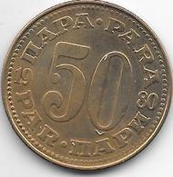 *Yugoslavia  50 Para  1980 KM 46.2 Xf++ - Yugoslavia